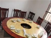 火锅店不开了,处理大理石桌子,椅子