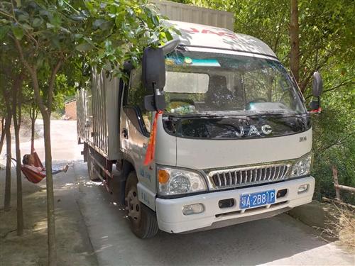 17年江淮康玲长4.2宽2.2高2.2蓝牌,挂武汉公司牌