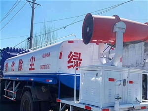 適合綠化,道路養護,工程除塵!柴油發電機,遠程霧炮