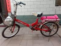 小型自行車 接送孩子 不影響騎行