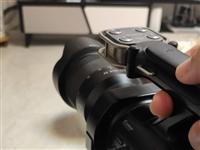 索尼可换镜头摄影机85新,摄影需求者带走。VG900E高清摄影机,镜头3800元