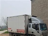 此車轉讓福田歐馬可3米85寬體冷藏車450凱雪冷機康明斯3.8排量