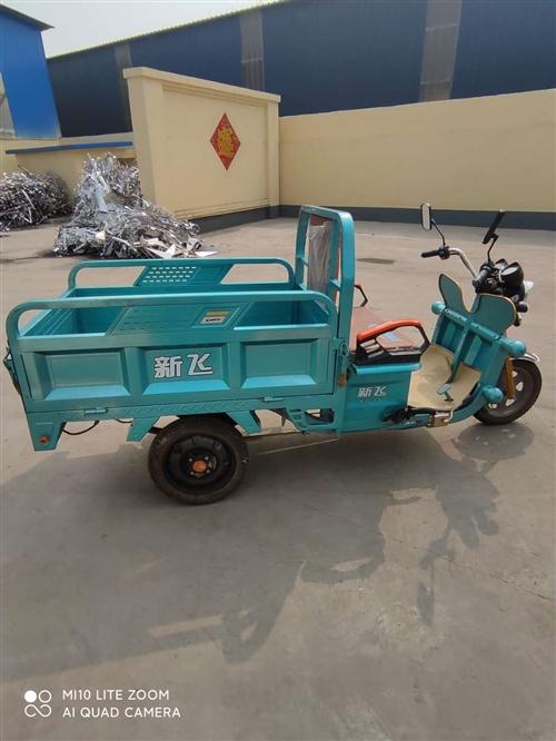 出售电动三轮车一辆,九成新以上,没怎么骑过,车况良好。