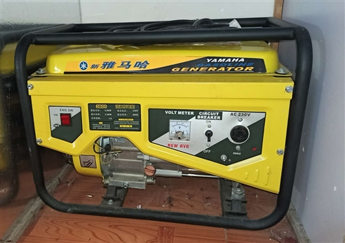 **的汽油發電機,買來就用過一次。沒地方放了又不停電想賣掉