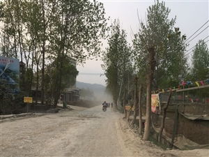 能关注一下我们桃江中国石化加油站往洒源方向的路吗?