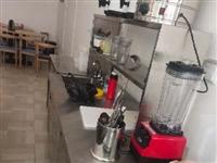 奶茶操作台冰柜九成新