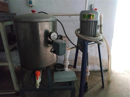 吸水泵及自动压力罐,各一个,便宜处理,需要的联系