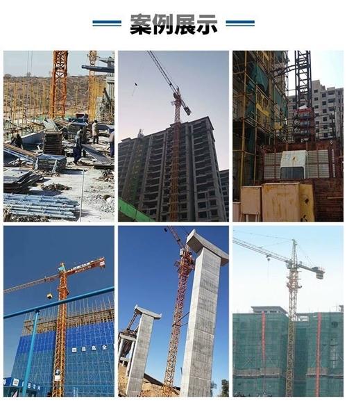 有一副2010年出厂塔吊是华夏63,塔吊刚标准节32节和2012年一副施工电梯金鼎盛都在100米左右...