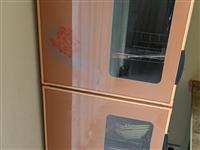 9.9成新消毒柜 用过2次  上下两层双开门