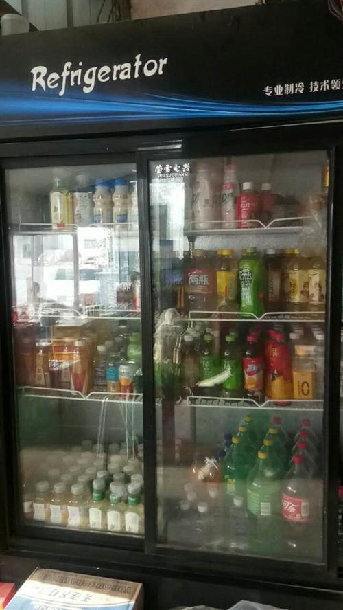 推拉門冰柜處理,一年多,九成新。