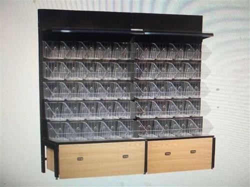 116单面5层+透明盒子+木柜高度185cm