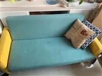 闲置二手小沙发,开店的时候买的,放在家里占位置便宜出售