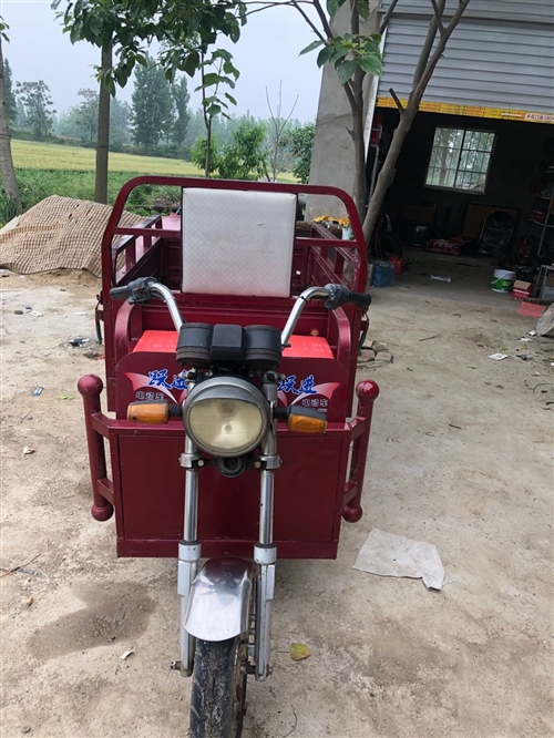 出售九层新跃进电动三轮车,车况良好电瓶良好行程五十里,车箱长一米五,宽一米。
