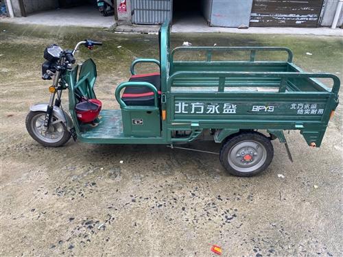 北方永盛牌电动三轮车去年7月份购买的 带两组电池 可见面看车 有需要可以联系我