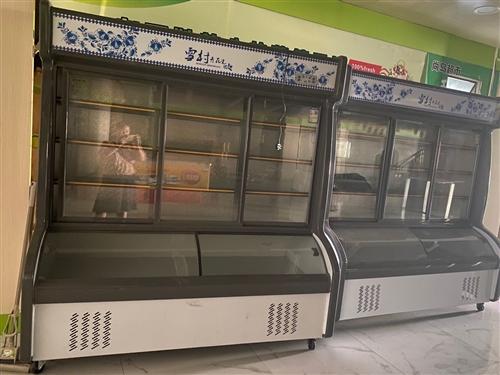 **两组冰柜 买回来用了几天