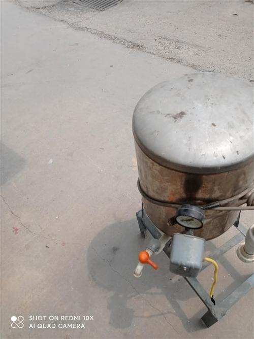 不锈钢水井压力罐,便宜处理,有意者联系