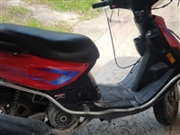 踏板*士摩托车,8成新