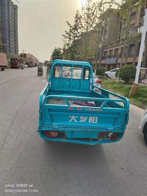 精品 大阳电动三轮车刚买两三个月,因为其它原因要处理,九成新,五六千米