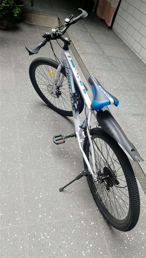 26寸21速9.9成新山地自行车