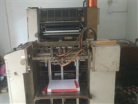 小型印刷厂转让:印刷机是日产良明520重型机,机况良好,位于肖家社区旁,有意者价格面议。