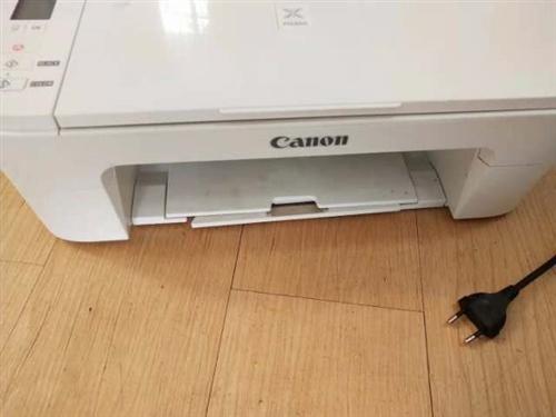 出佳能打印机,9.5诚新,还有部分墨盒一起送,有需要的电话18279587735(微信同号),东西在...
