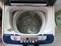 大品牌金松全自动洗衣机,洗涤重量6kg,8成新,400块钱,东虹路3楼自提先到先得