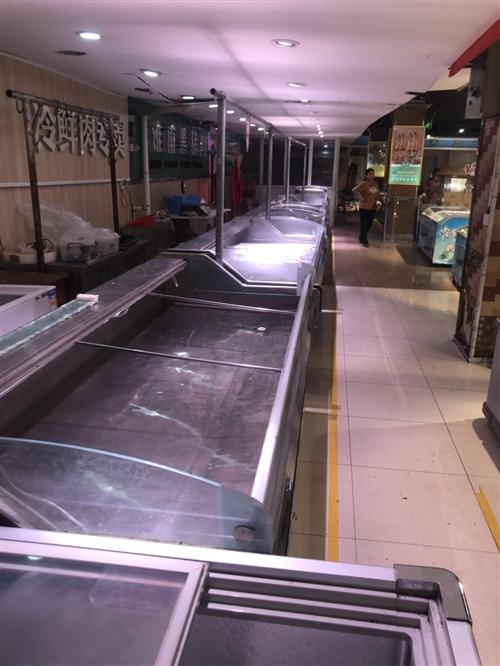 鄭州正雪冷鏈2.5米商用展示柜
