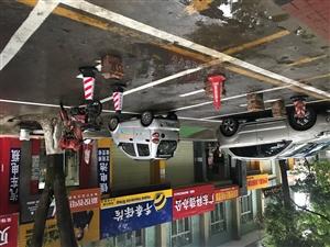 风景路商户霸占停车位
