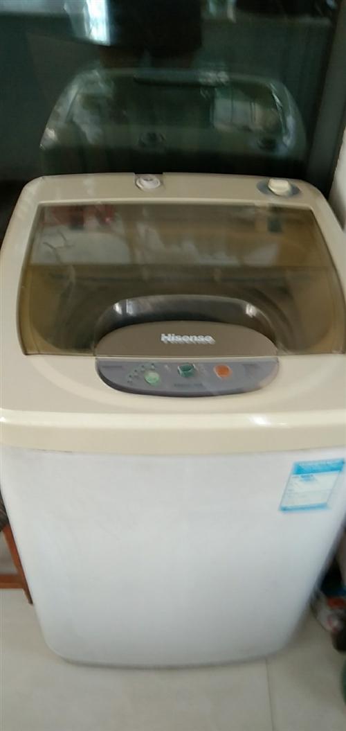 海信全自动洗衣机。己用3年多,功能完好。