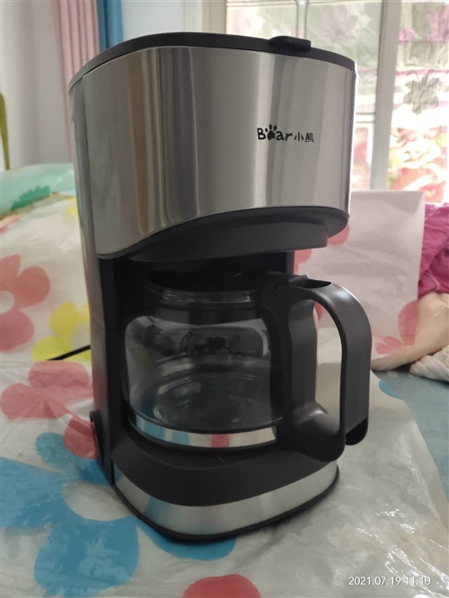 **小熊咖啡机两台     0.7升    未拆包装  每台200元