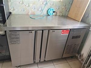 九成新操作台双控冰柜超低价处理