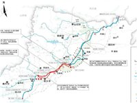 卫河和共产主义渠设计的泄洪区