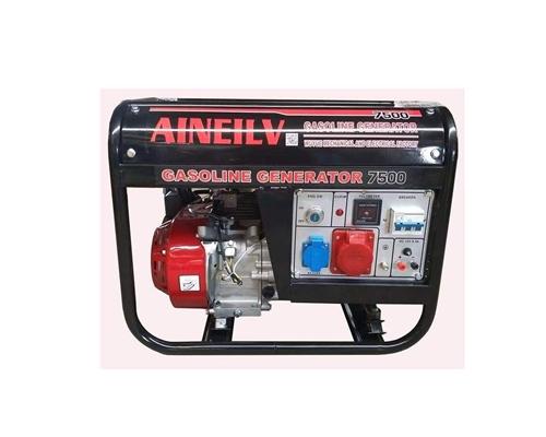 有没老板需要发电机备用的,汽油**机二手价7500千瓦,可三相电