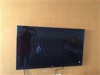 海信电视,超薄多功能50寸八成新原价五千多 证书齐全 ,价格可商量