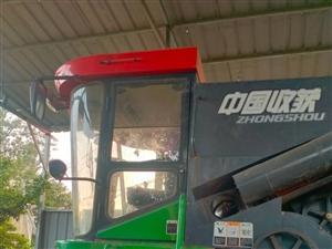 中國收獲小麥收割機
