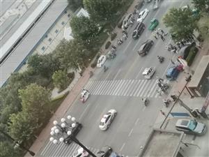 人行横道不减速,车祸频繁发生