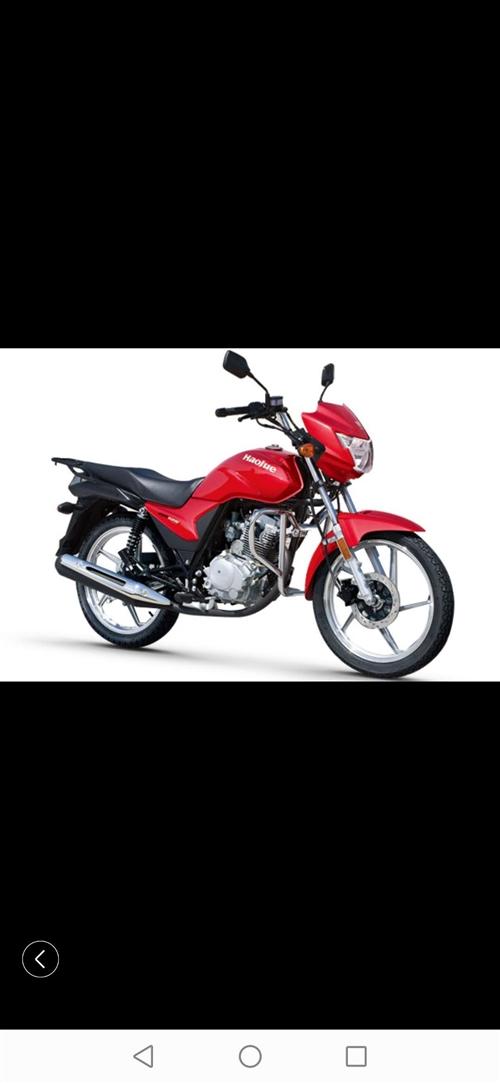 豪爵铃木125摩托车可过户