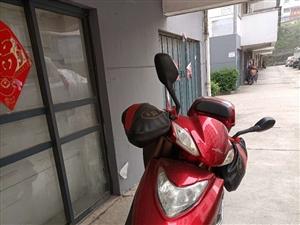 九成新踏板摩托�,有���l票、�牌�,F�e置出售。非�\勿�_