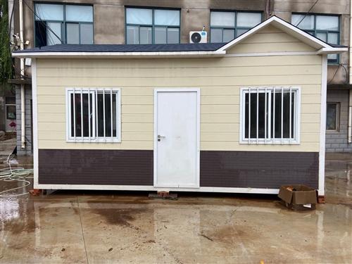 钢结构结成房屋样板房**未使用