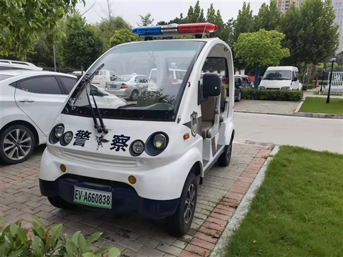 求购二手电动警务巡逻车,要求车况好,电池耐用