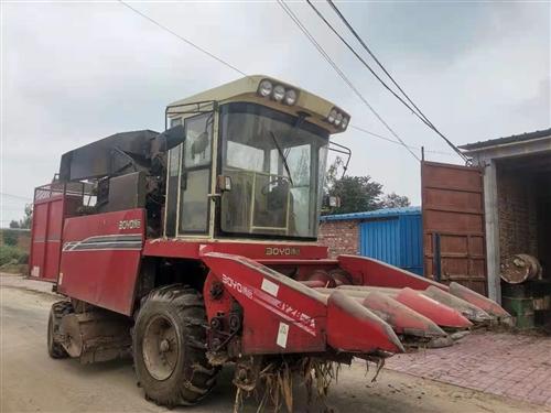 自用15年玉米收割机出售,价格便宜,着急出售