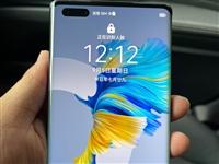 出售9.9成新(手機各方面完美無瑕,只使用了兩天)亮黑色華為mate40pro5G手機8+256的,...