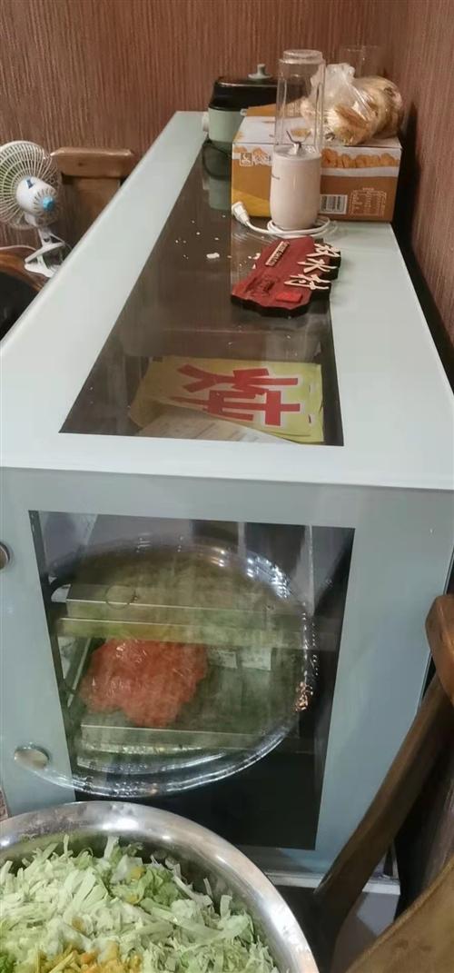 冷藏保鲜柜九成新,质量好的没法说。