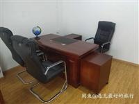 9成新办公桌椅一套,想要的话私聊