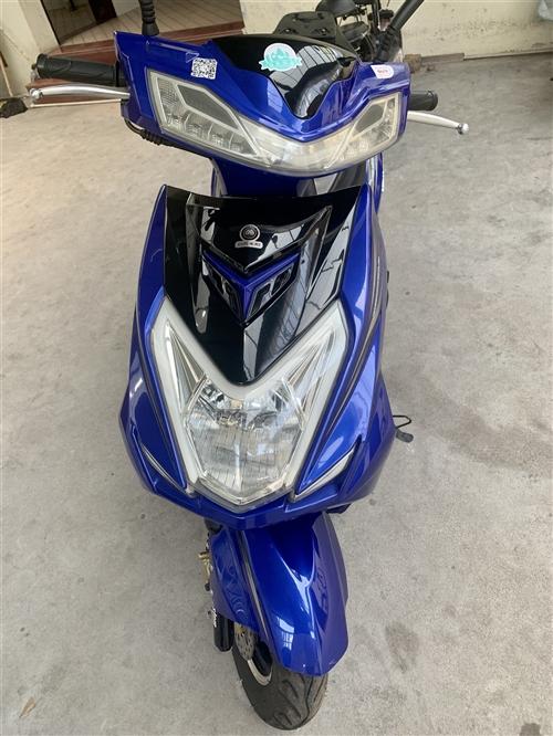 本人有一辆女士摩托车 9成新 以上牌可过户 购买日期2020年3月20号。无修过。只骑了1800公里...