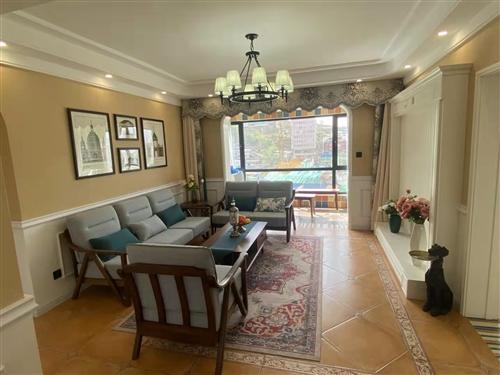 图片是样板房,实际卖的是同户型毛墙毛地        118平米   三室两厅两卫    15楼  ...