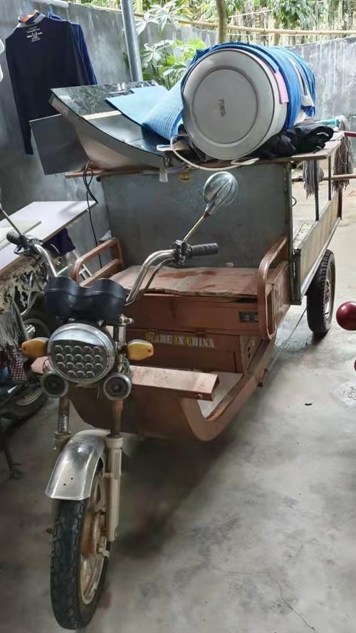 自用三轮电车,轮胎很新,电机一直用都没有问题,车厢是自己加焊的很耐用。用个五年不在话下。有喜欢的请联...