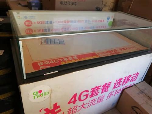 展示柜,9成新,长120cm60cm90cm,可做烟柜,需自提。
