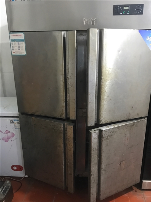四门冰箱,上冷藏,下冷冻便宜处理