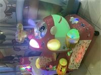 投币,超级飞侠摇摇马,打珠子电玩,8成新,一直放在室内,乐园不做了,低价处理,百盛二楼东北角